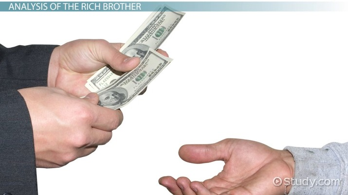 The Rich Brother Summary Analysis Video Lesson
