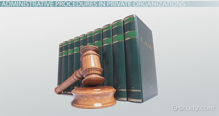 What Are Administrative Procedures? - Definition