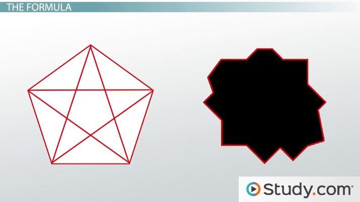 How many diagonals does a hexagon have? | Study com
