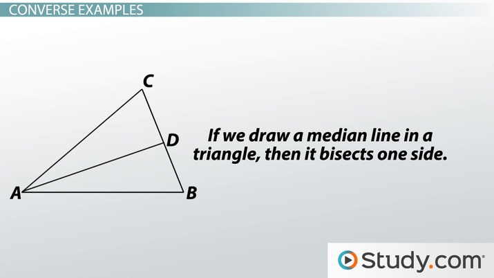 f3aac360fc46 Converse of a Statement  Explanation and Example - Video   Lesson ...