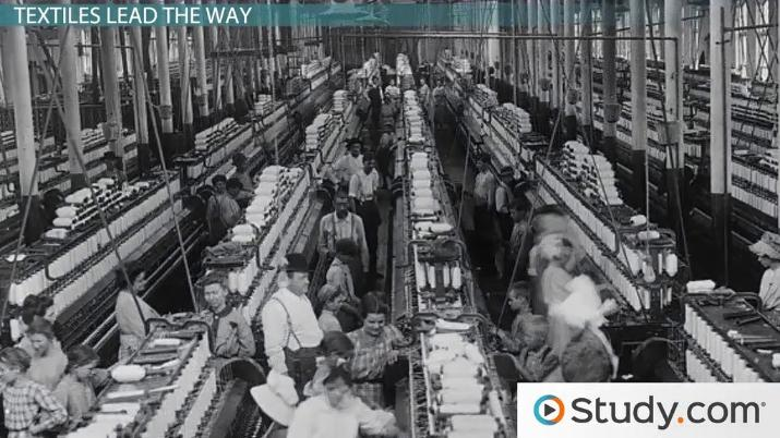 Great Britain Leads the Industrial Revolution - Video & Lesson