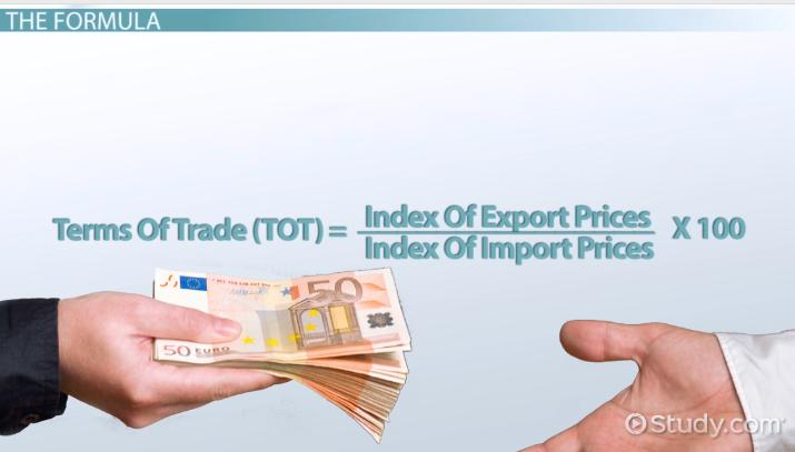 Terms of Trade in Economics: Definition, Formula & Examples