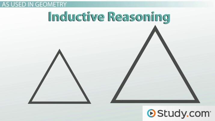 inductive & deductive reasoning in geometry: definition & uses