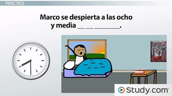 how to say my daily routine in spanish