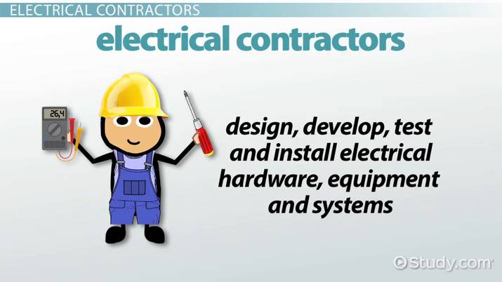 steps to become an electrical contractor