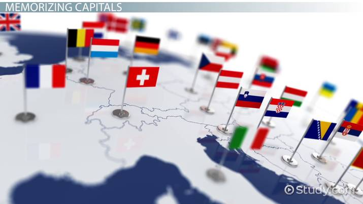Western Europe: Countries & Capitals