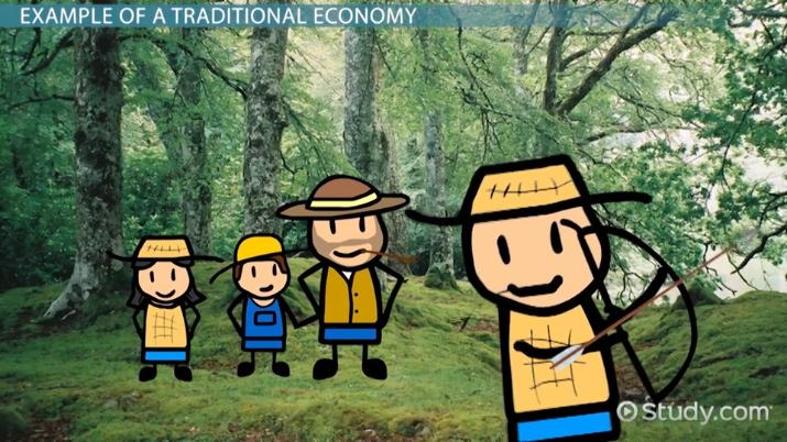 What is a Traditional Economy? - Definition, Characteristics