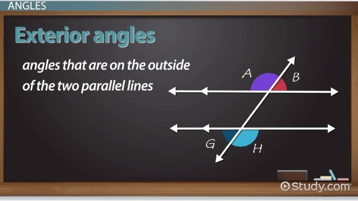Transversal in Geometry: Definition & Angles