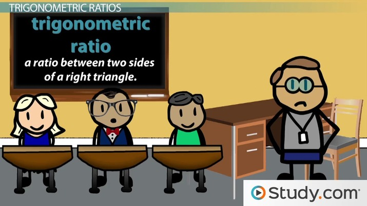 Trigonometric Ratios And Similarity Video Lesson