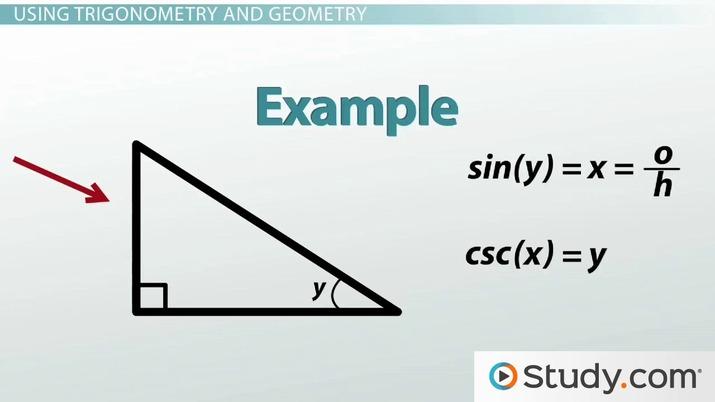Trigonometry And The Pythagorean Theorem Video Lesson Transcript Study Com