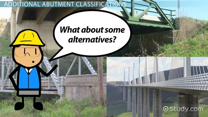 Bridge Abutment: Design, Types & Examples - Video & Lesson