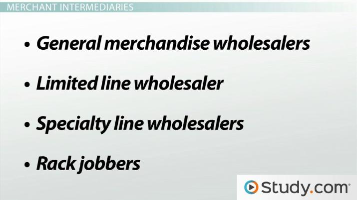 what is a merchant wholesaler