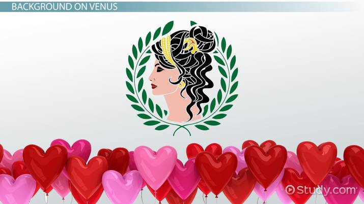 Venus, Roman Goddess of Love: Importance & Mythology