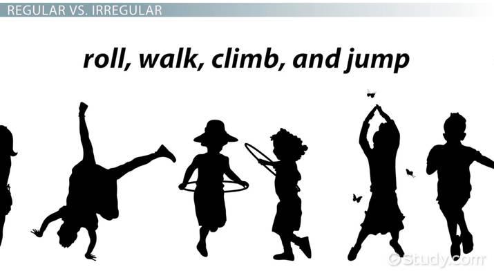 regular verbs in english  definition  u0026 examples