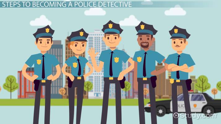 Steps to becoming a police officer