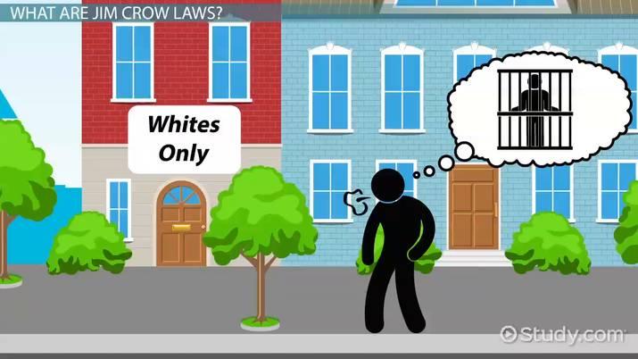 Jim Crow Laws Significance Facts Timeline Video Lesson Transcript Study Com