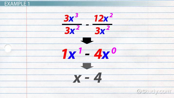 Factoring Expressions With Exponents