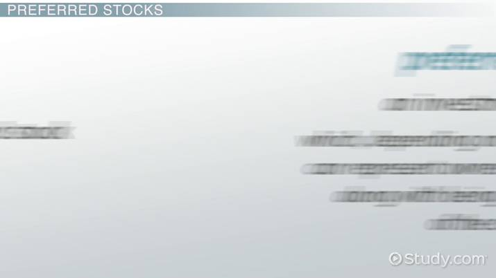 What is Preferred Stock? - Definition, Types & Advantages