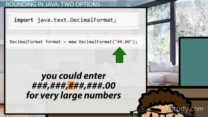 How to Round to 2 Decimal Places in Java - Video & Lesson