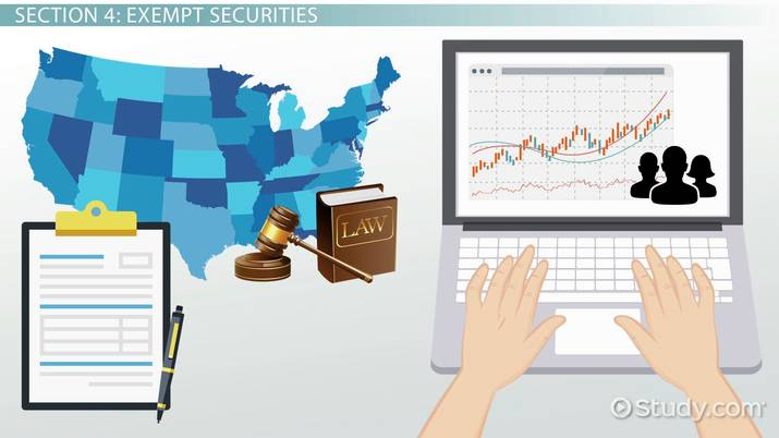 What Are Exempt Securities and Transactions? - Definition & Types