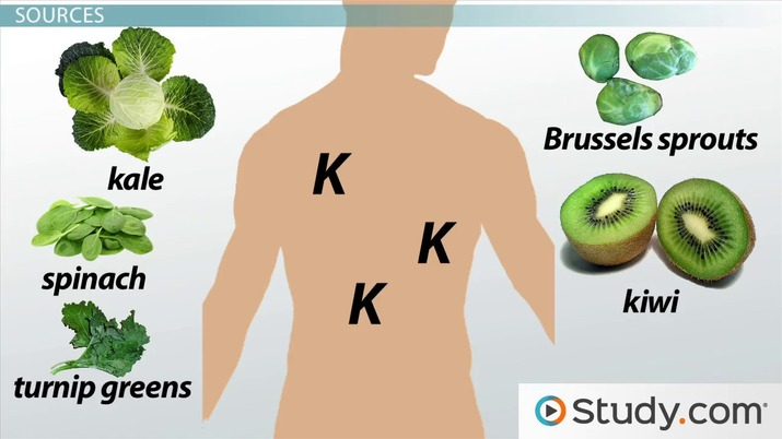 Vitamin K: Fat-Soluble Vitamin Deficiency & Toxicity Symptoms