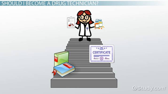 Become A Drug Technician Education And Career Roadmap