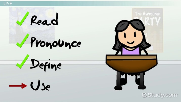 Vocabulary Acquisition: Processes & Examples - Video & Lesson Transcript | Study.com