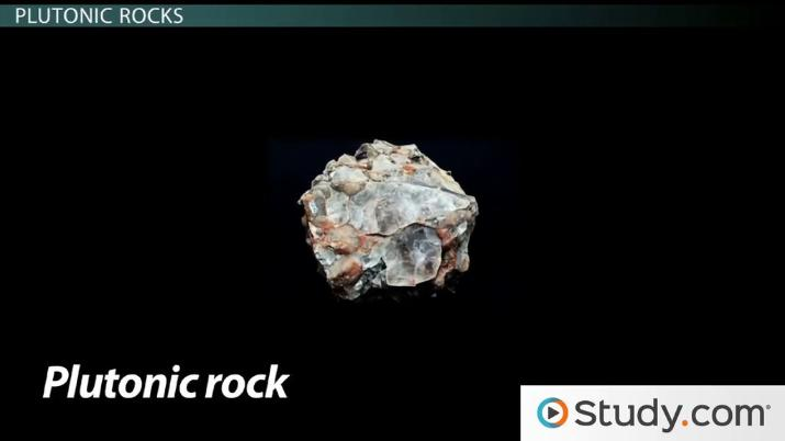 Volcanic Vs Plutonic Igneous Rocks Definition And Differences Video Lesson Transcript Study Com