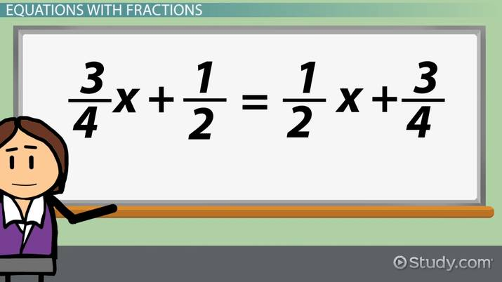 How to Solve Multi-Step Equations with Fractions & Decimals