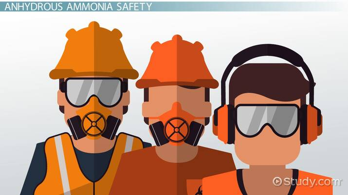 Anhydrous Ammonia: Uses & Safety - Video & Lesson Transcript