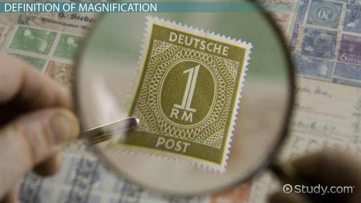 Magnification: Definition, Formula, Calculation & Examples - Video