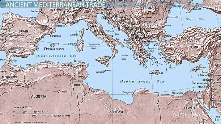 Mediterranean Sea Trade: Origins & Routes - Video & Lesson ...