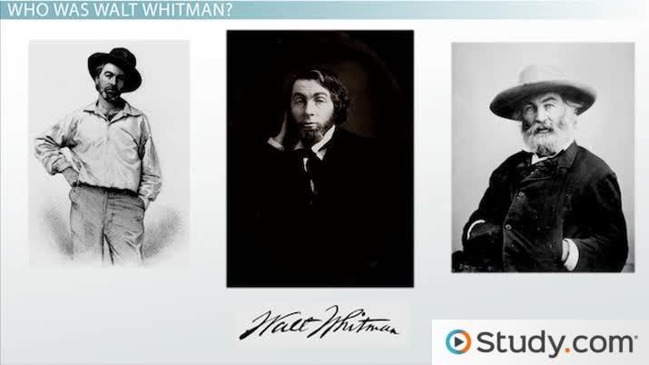 An analysis of the american characteristics of walt whitman