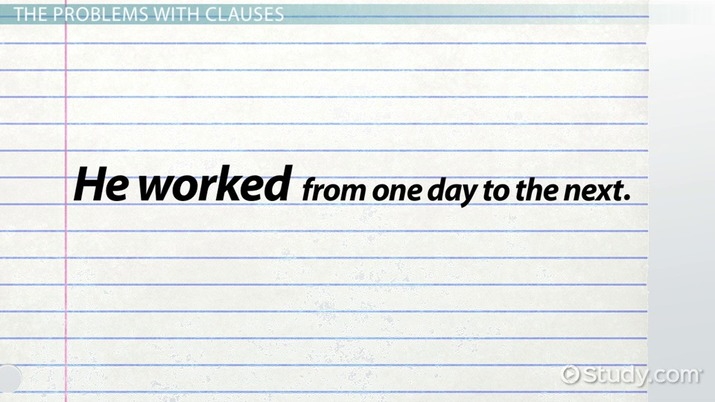 What is a Dependent Clause? - Definition & Examples - Video