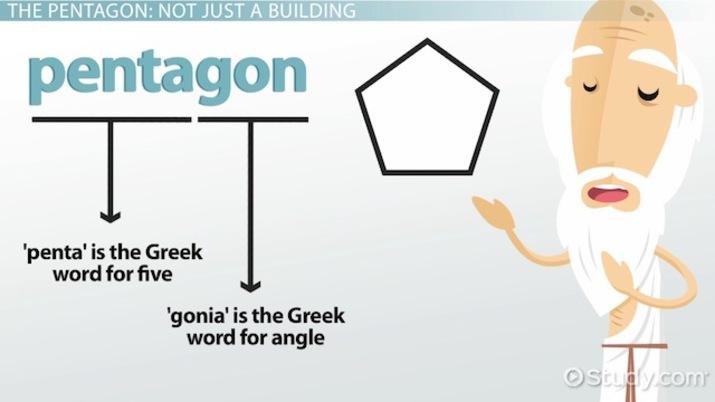 what polygon has 5 sides study com