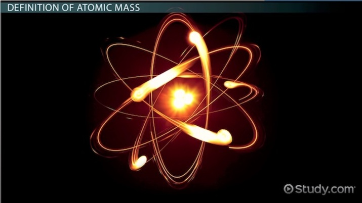 What is Atomic Mass? - Definition & Examples - Video