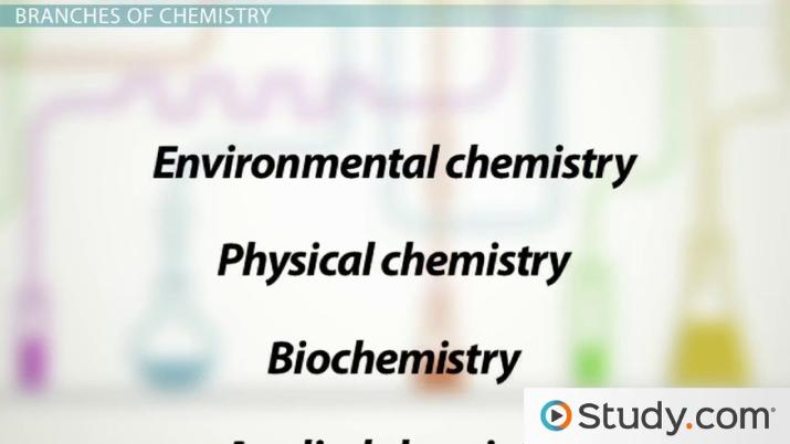 What is Chemistry? - Definition, History & Branches - Video & Lesson