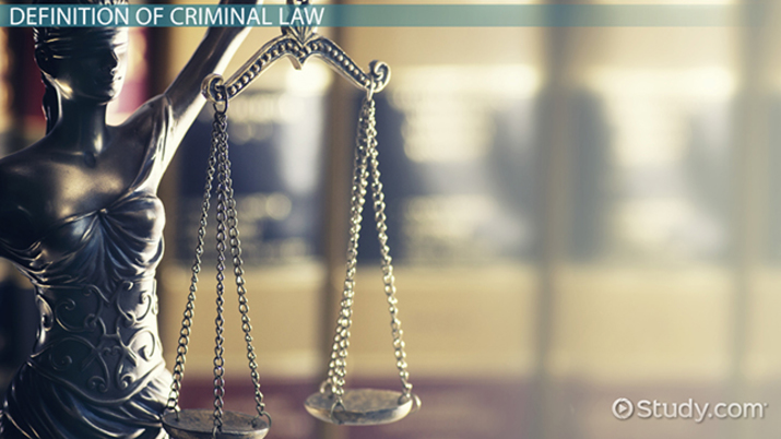 What is Criminal Law? - Definition, Purpose, Types & Cases