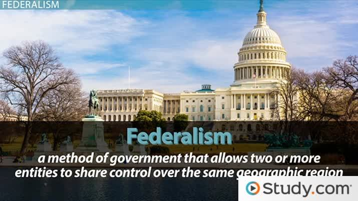 What Is Federalism Definition Factors Of U S Adoption