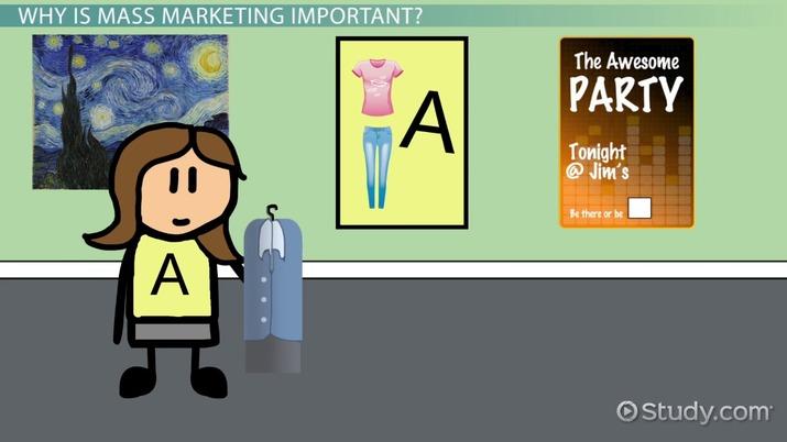 What is mass marketing definition advantages examples video definition advantages examples video lesson transcript study solutioingenieria Choice Image