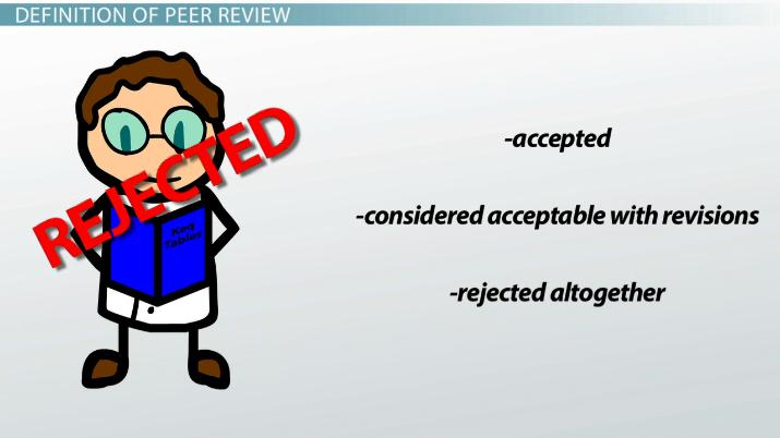 What Is Peer Review In Science Definition Process