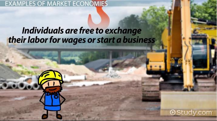 what is a market economy definition advantages disadvantages