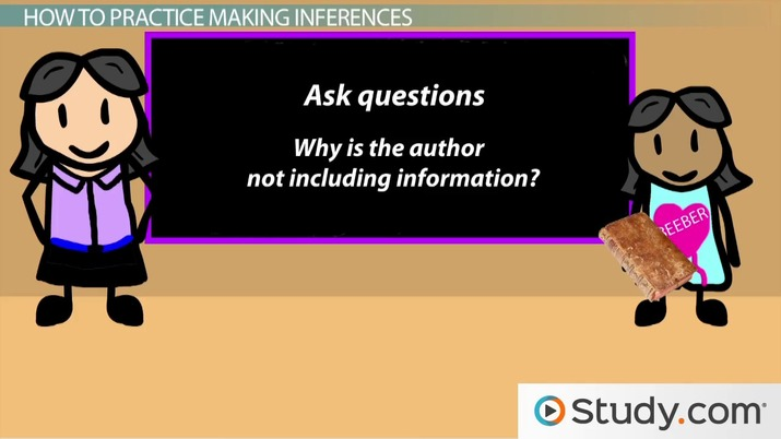 What Is Inference How To Infer Intended Meaning Video