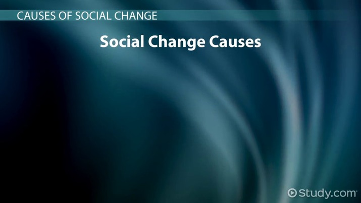 What is Social Change? - Forms & Definition - Video & Lesson