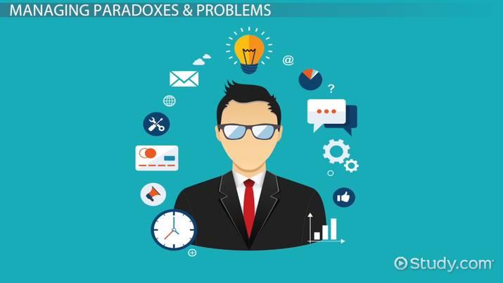 Paradox Management Definition Example Video Lesson Transcript