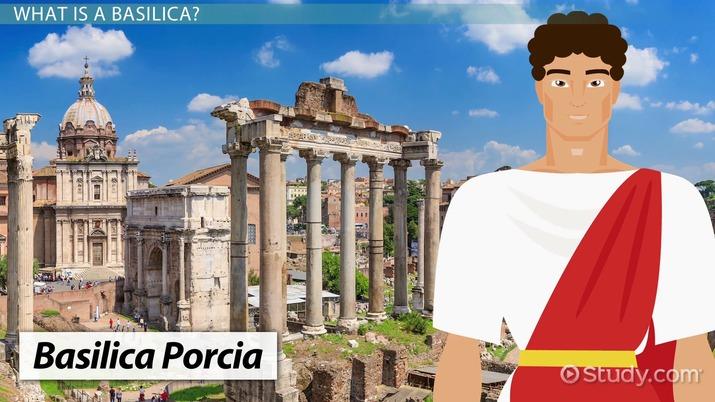 The Ancient Roman Basilica Architecture Overview Video Lesson