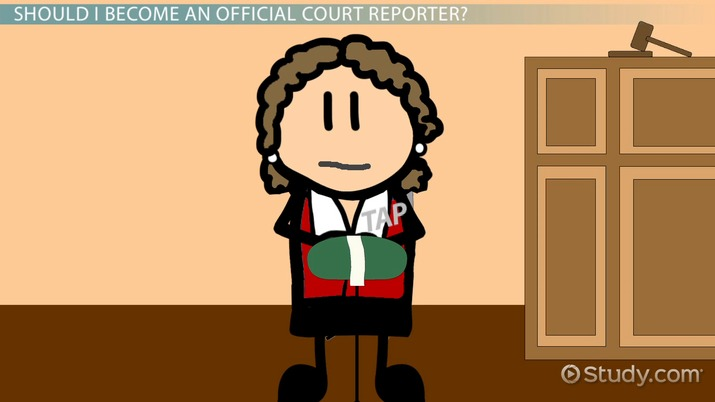 How To Become An Official Court Reporter