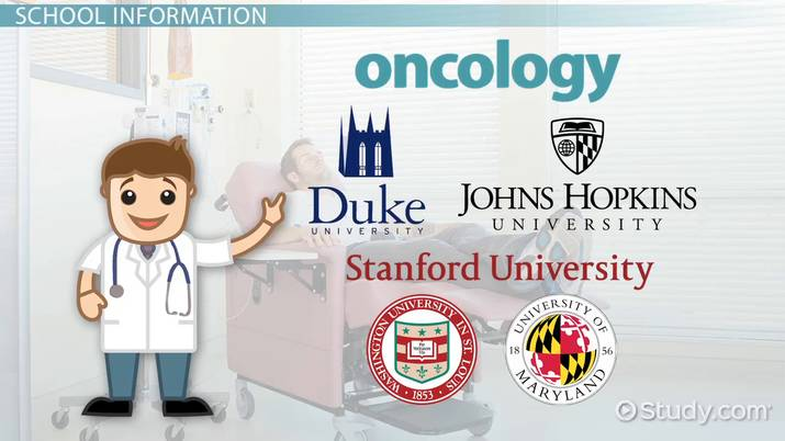 Top Colleges with Oncology Programs: List of Schools