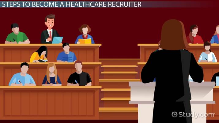 how to become a healthcare recruiter education and career roadmap