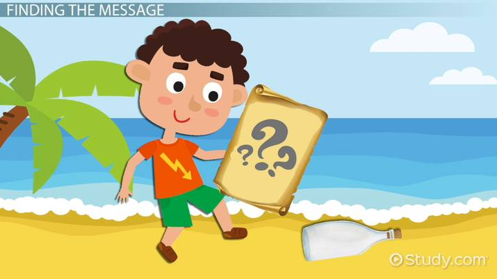 Determining the Message of a Story: Lesson for Kids - Video
